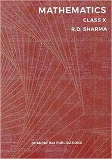 Mathematics for Class 10 PDF by R D Sharma