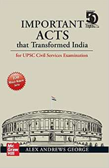 Important Acts that Transformed India PDF