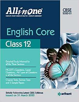 CBSE All In One English Core Class 12 for 2021 Exam PDF