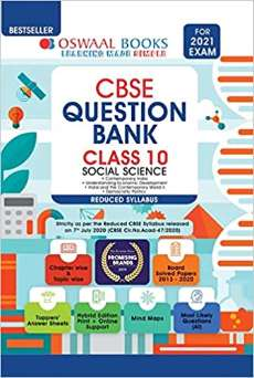 Oswaal CBSE Question Bank Class 10 Social Science PDF
