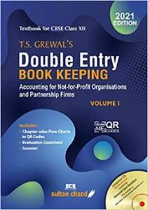 TS Grewal's Double Entry Book Keeping PDF