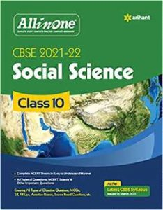CBSE All In One Social Science Class 10 for 2022 Exam PDF
