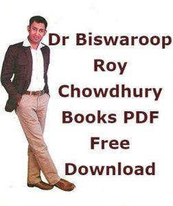 Dr Biswaroop Roy Chowdhury Books PDF