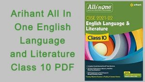 Arihant All In One English Language and Literature Class 10 PDF